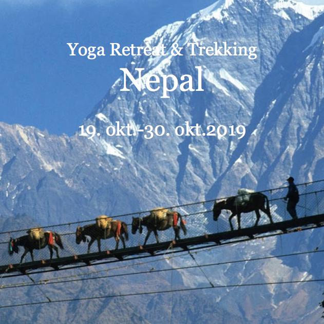 Yoga retreat og trekking i Nepal 21. okt. - 1. nov. 2018