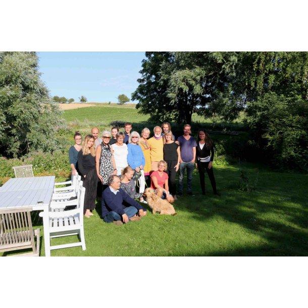 Nærvær og livsglæde - Sommerretreat på Samsø 22. - 27. juli 2019