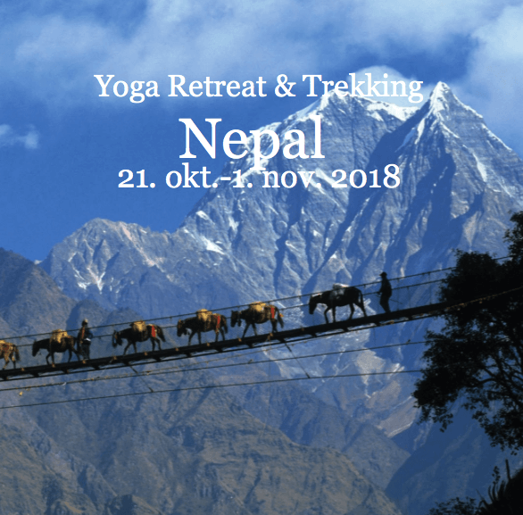 Yoga retreat og trekking i Nepal 21. okt. - 1. nov. 2018
